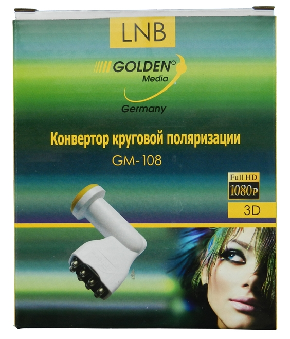 Golden Media GM-108 Octo Circular LNB