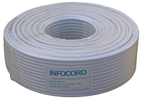 F660BV White INFOCORD (100м)