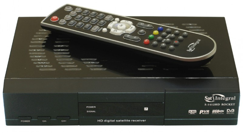 Sat Integral S-1412 HD ROCKET (S2/ IPTV/ H.265)