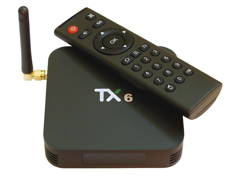 Android приставка TX-6 4/64G Smart TV Box  (Allwinner H6, Android 9.0, Wi-Fi 2.4+5, BT 4.1)