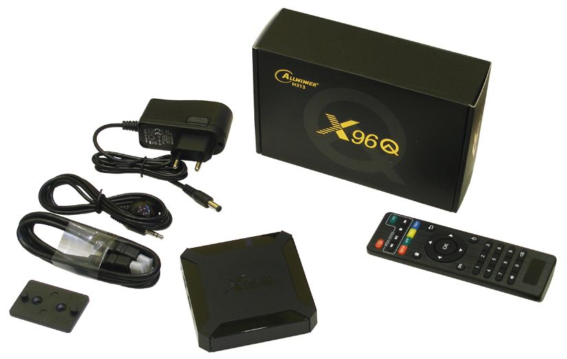 Android приставка  X96Q Smart TV Box  (Allwinner H313, 2/16G, Android 10)