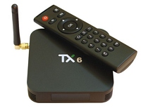 Android приставка TX-6 4/32G Smart TV Box  (Allwinner H6, Android 9.0)
